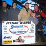 Late Pass Gives Jerrod Hull Sprint Invaders Opener at 34 Raceway!