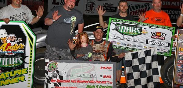 Ryan Unzicker wins Slocum 50 at 34 Raceway!