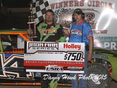 Agee, Nieman score Holley Iron Man Series wins at Randolph County Raceway