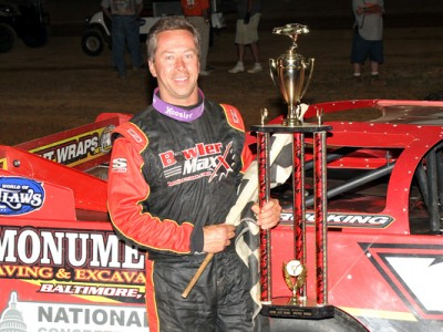 Eckert Ends World of Outlaws Late Model Series Winless Streak With Victory In Ponderosa Speedway's First-Ever Series Event