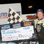 Bloomquist Cruises To Convincing Victory In Smoky Mountain Speedway's Mountain Outlaw 50 Presented by NAPA