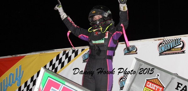 Henderson Cruises, Haase Makes History at Knoxville!