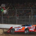 Pearson Wins Lucas Oil Late Model Dirt Series' First Visit to Oshkosh Speedzone Raceway