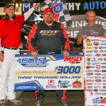 Phillips fends off Sanders again in USMTS battle at Lakeside Speedway