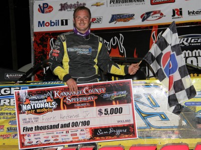 Heckenast Conquers Kankakee to Earn First DIRTcar Summer Nationals Victory