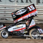 Fog and Rain Can't Stop Donny Schatz at Knoxville!