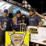Randy Martin Tops ASCS Warrior at Randolph County Raceway
