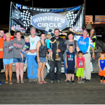 Darren Shaw Makes it Three in a Row on Rod End Supply Night at the Races I-35 Speedway