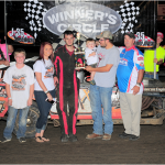 Rain Shortens Kaster Celebration Night at the Races I-35