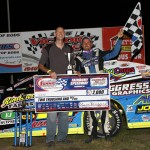 Harrison Celebrates DIRTcar Summit Racing Equipment Modified Nationals Championship with Victory at Fairbury