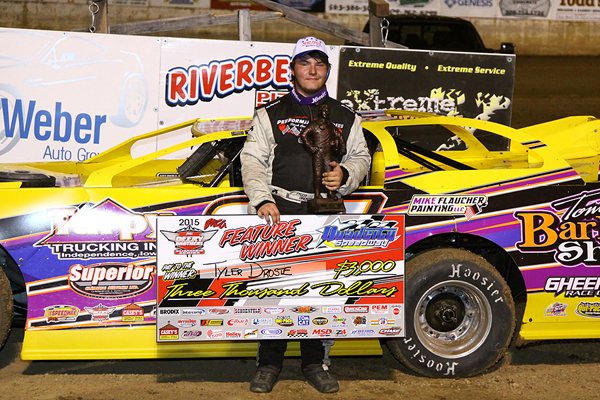 Deery Brothers Iowa City >> Rookie Droste races to first Deery win at Quad City : Heartland Motorsports