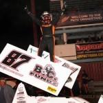 Aaron Reutzel is the High Roller at Missouri State Fair Speedway!