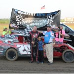 Elliott Sweeps Double Modified Features at I-35 Speedway!