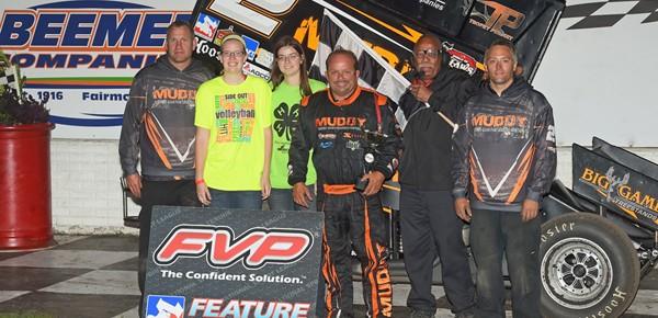 Danny Lasoski Scores Win #7 at Fairmont Raceway!