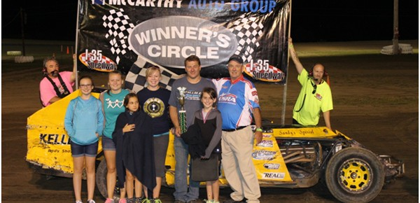 Darren Shaw Reigns Supreme on Trenton Coca-Cola Night at the Races I-35 Speedway!