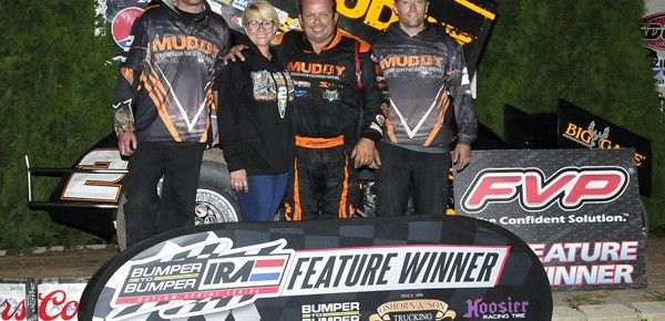 Lasoski Gets Victory with Late Pass at Angell Park Speedway!