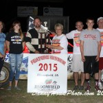 Hughes, Gillenwater, Ulin and Rue gets wins at Bloomfield Speedway during the Bob Weaklen Memorial Trophy night.