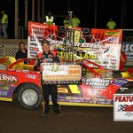 Billy Moyer wins milestone 800th feature at Lafayette County Speedway