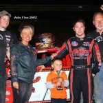 Pierce, Long, Huls, Gower and Lambert Take Season Championship Feature Wins at Quincy