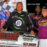 Chad Simpson takes night one at Iowa Governor's Cup