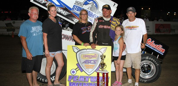 Wayne Johnson Prevails with ASCS Warriors at Randolph County Raceway