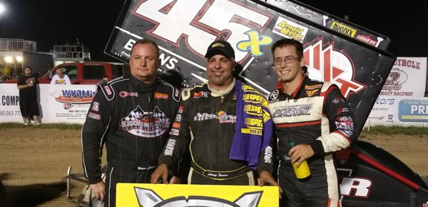 Johnny Herrera Leads The Way With ASCS Warriors at Randolph County Raceway