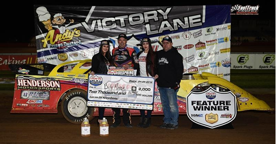 Moyer nails down first win of the year in MLRA lid lifter