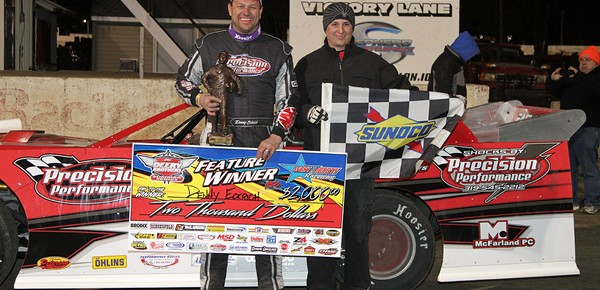 Denny Eckrich dominates in Deery opener at West Liberty