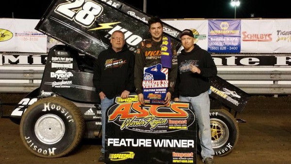 Deery Brothers Iowa City >> Cornell Leads The Distance With ASCS Warriors at Missouri ...