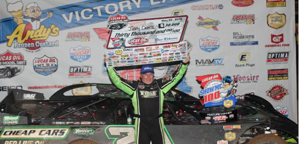Owens celebrates wild Show-Me 100 win in race for the ages