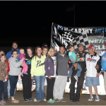Wray, Hanes, and Estes Win on Ferrellgas Night at I-35 Speedway!!!