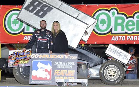 Bruce Jr. Takes Advantage of Late-Race Restart to Win GoMuddy.com NSL 360 NCRA/NSL Region Event at 81 Speedway