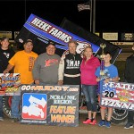 Droud Decimates NCRA/NSL Sprint Cars at Dodge City