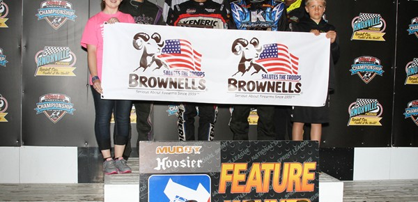 Kerry Madsen Rolls NSL Field for Win #18 at Knoxville!