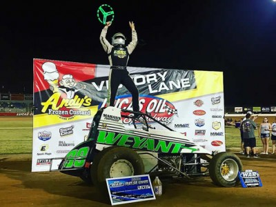 Weyant wins third in a row at Lucas Oil