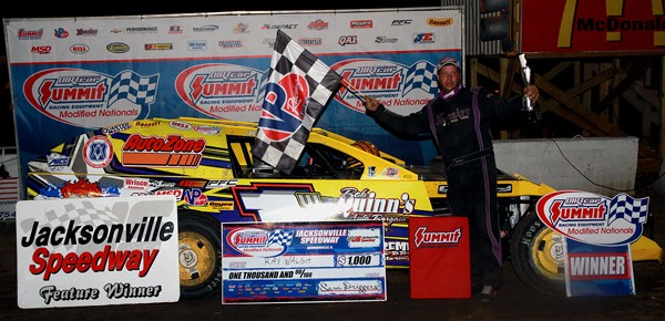 Ray Walsh Tops Modified Nationals Field at Jacksonville Speedway
