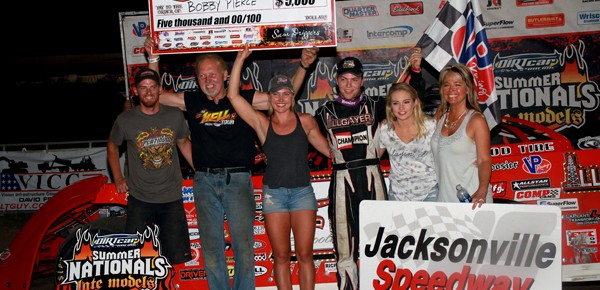 Bobby Pierce Continues to Roll with Jacksonville Win