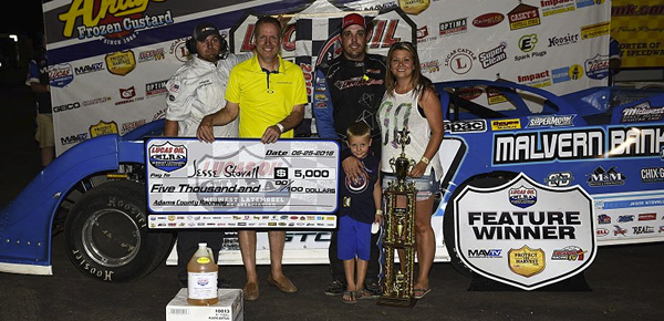 Stovall defends title in Liberty 50 at Adams County