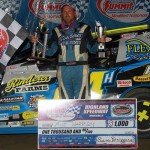 Harrison Battles Bollinger for Summit Modified Nationals Win at Highland