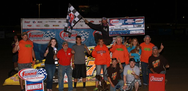 Ray Bollinger Rebounds to Score Summit Modified Nationals Win at Quincy