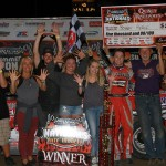Double Digits for Bobby Pierce with Quincy Win