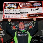 Three for Jason Feger with Oakshade Win