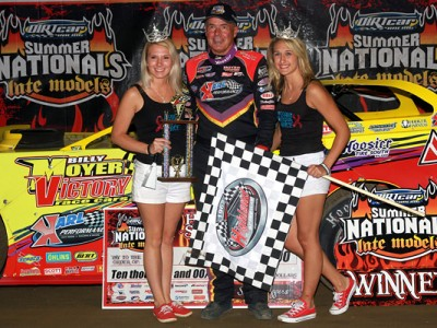 Billy Moyer Dominates at Highland