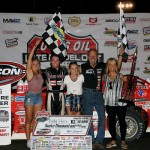 Pierce Takes 100 Lap Win at Macon Speedway