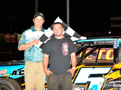 Race results for August 27 Boone Speedway
