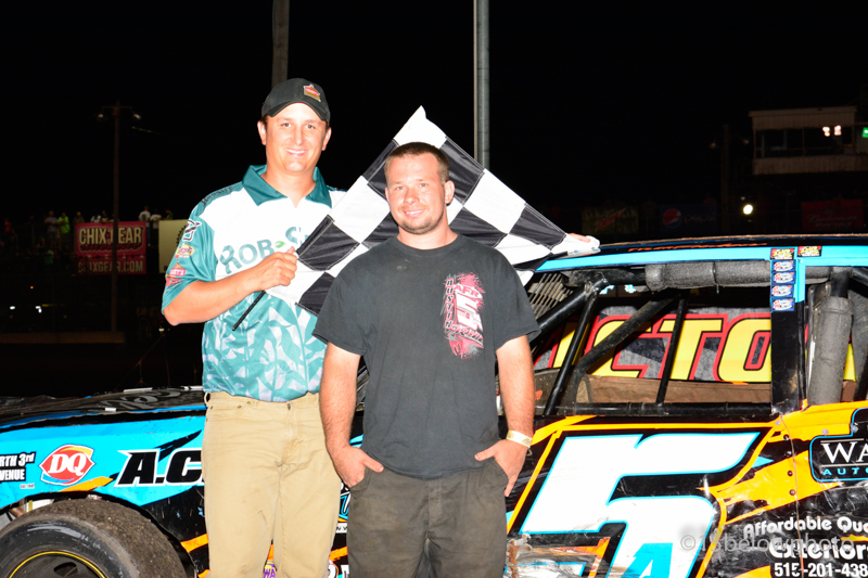 Deery Brothers Iowa City >> Race results for August 27 Boone Speedway : Heartland Motorsports