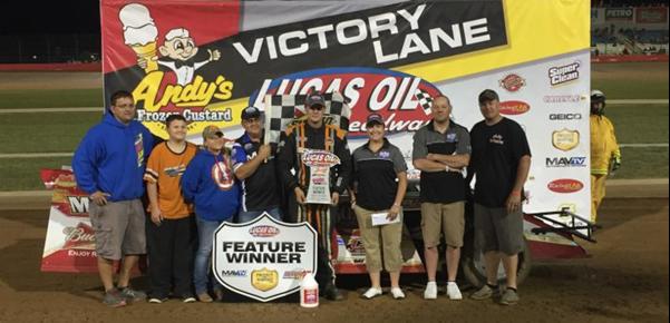 Schott takes USRA Modified headliner at Lucas Oil Speedway