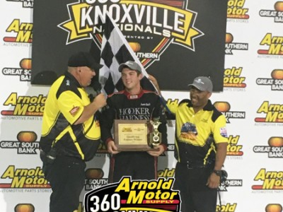 Jamie Ball Leads It All to Win Night One of the 360 Knoxville Nationals