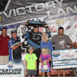 Vaught takes command late to capture Lucas Oil MLRA Larry Phillips Memorial at Lucas Oil Speedway