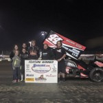 Chris Martin Charges to Victory in Wild Non-Stop 25-lapper in Quincy!